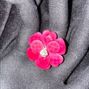 🔥***BOGO Magenta Flower Ring***🔥